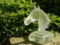 Horse Head – Leaded Crystal