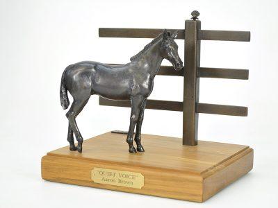 Bronze foal