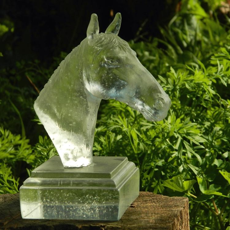 crystal horse head