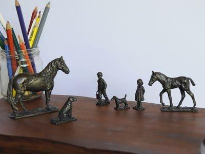 bronze pony