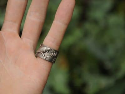 silver tui ring